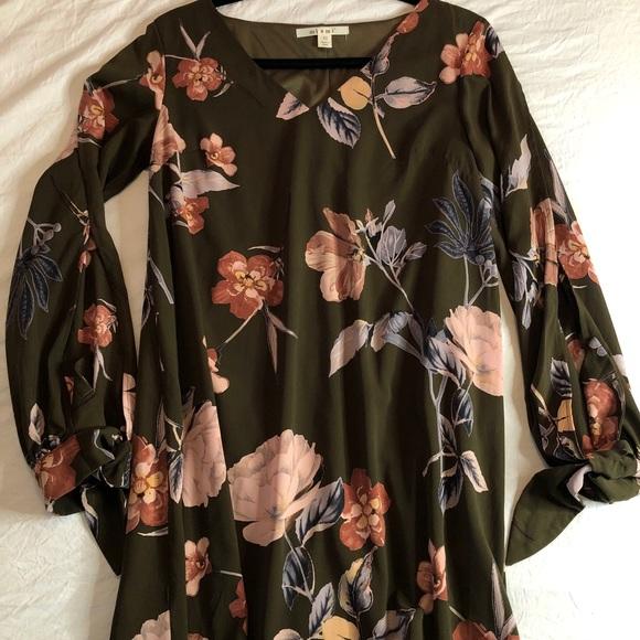 Floral francescas dress 🌿